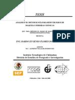 Tesis Analisis P-M Metodología Para Reducir Paros de Maquina y Perdidas Crónicas