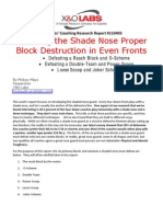 Teaching Shade Proper Technique