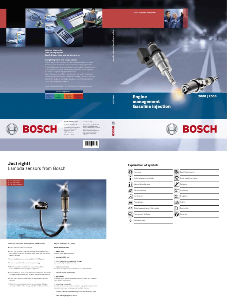 Bosch catalog and technical info fuel injection throttle publicscrutiny Gallery