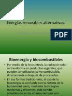 Energías renovables alternativas