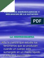 Hidrodinámica de la natacion