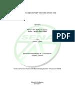 Directivas de Grupo en Windows Server 2008
