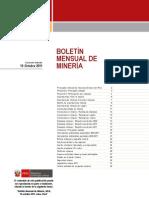 Peru Boletin Mensual Minería 10_11_2011