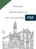 Libretto Matrimonio Italiano-Inglese (Rito Ambrosia No )