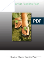 Beating Plantar Fasciitis Pain