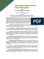 Decreto No 2-70 del Congreso de la República, Código de Comercio de Guatemala