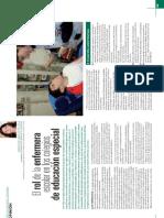 Rol Enfermera Escolar en CEE_Revista FSI
