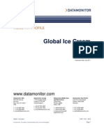 Global Ice Cream - Data Monitor