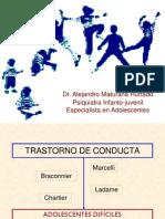 Transtronos de La Conducta en El Adolescente[1]