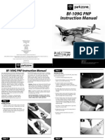 Parkzone Bf 109G PNP Manual