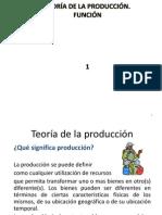 1 Producción y función