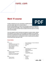 Mark Vi Training Course