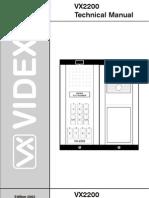 Sema Povezivanja Sistema Digitale Vx2200