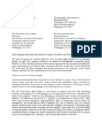 Consumer Federation of America, Consumer's Union and US PIRG SOPA Letter