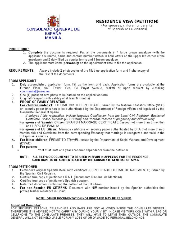 Petition eu 2011 travel visa birth certificate aiddatafo Choice Image