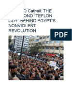 "Maidhc Ó Cathail - THE JUNK BOND ""TEFLON GUY"" BEHIND EGYPT'S NONVIOLENT REVOLUTION"