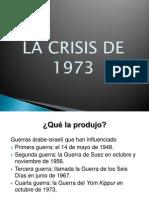 La Crisis de 1973