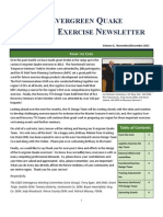 Evergreen Quake Newsletter Nov Dec Issue