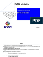 Service Manual Epson FX 890 - 2190
