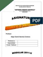 Investigac_Cientifica 2011-II