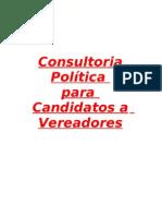 Manual Do Candidato - Consultoria Politica