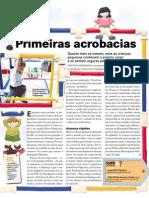 PRIMEIRAS ACROBACIAS