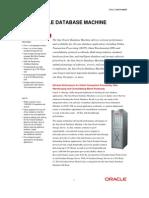 Oracle Db_machine V2 Datasheet