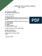 Tst - Modelos de Cartas - Simples - PJ Inativa