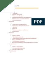Dotnet Framework Faq