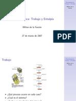 ClaseTrabajo Entalpia2007a Handout