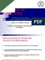 Mechanics of Leukocytes