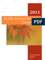 MySQL Dan Java Database Connectivity