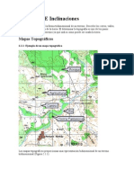 Topografía E Inclinaciones