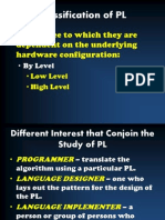 Classification of PL