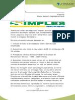 Anexo 1 Simples Nacional Legislacao e Pratica