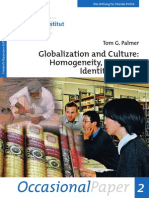 Globalization and Culture-Tom Palmer