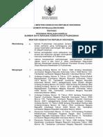 KMK No. 857 Ttg Penilaian Kinerja SDM Kesehatan