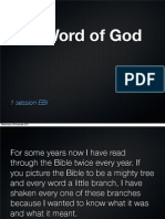 The Word of God
