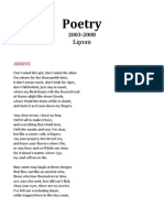Poetry 2003-2008