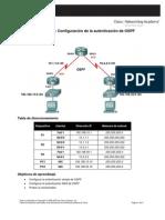 Configuracion Autenticacion de Ospf