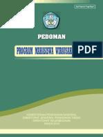Pedoman Program Mahasiswa Wirausaha (PMW) Dikti