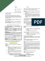 Special Proceedings Rem Law Review (Gesmundo) 2010-2011