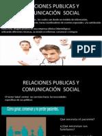 Relaciones Publicas y Comunicacion Social