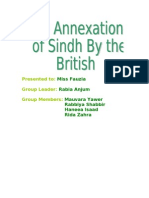 Annexation of Sindh