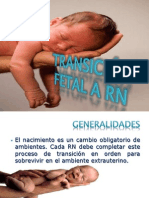 TRANSICIÓN FETAL A RN