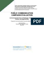 Public Comm Campaign Evaluation