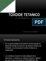 TOXOIDE TETANICO