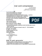 PIVD & Spinal Cord Compression