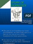 History of Orthopaedics