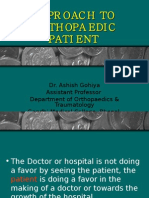 Approach to Patient